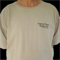 Paines Creek Oyster Co. Tan Tee