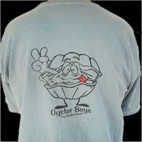 Paines Creek Oyster Co. Grey Tee