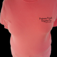 Paines Creek Oyster Co. Red Tee
